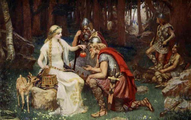 history of apple trees, mythology